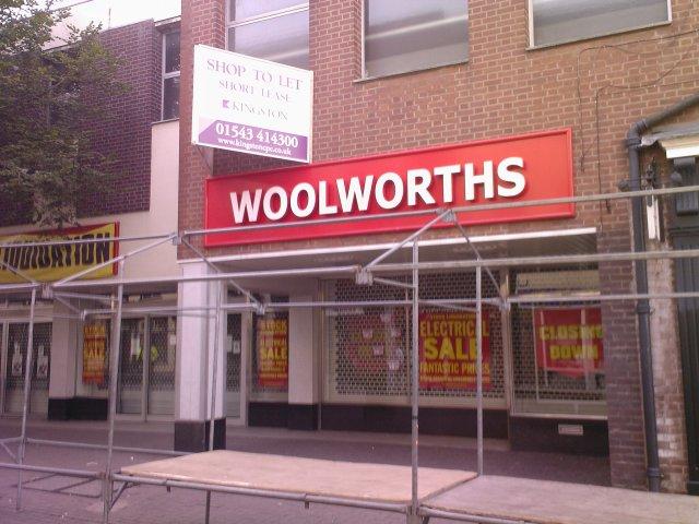 Woolworths Shut