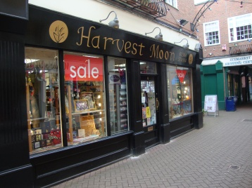 Harvest Moon spirituality shop Stourbridge Feb 2012 01