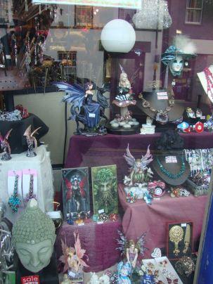 Tonys Emporium Spirituality shop Carmarthen Feb 2012 03