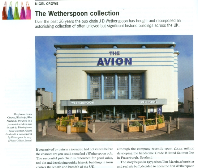 Context Weatherspoons