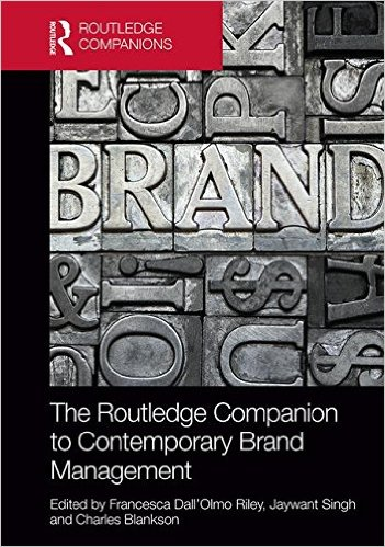 Routledge companian to brand Cover