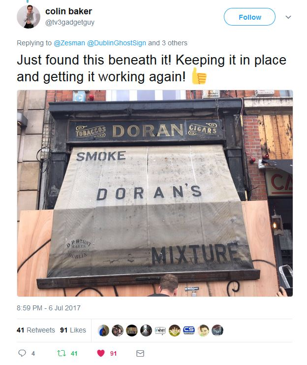 Dublin Awning