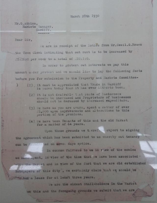 1930 Letter