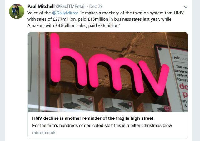 HMV Rates